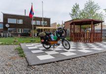 1 - Puch Maxi in Ulan Bator - Hauptstadt Mongolei