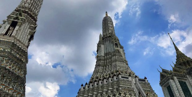 Wat Arun Tempel - Bangkok Reisebericht - Flashpacking Thailand