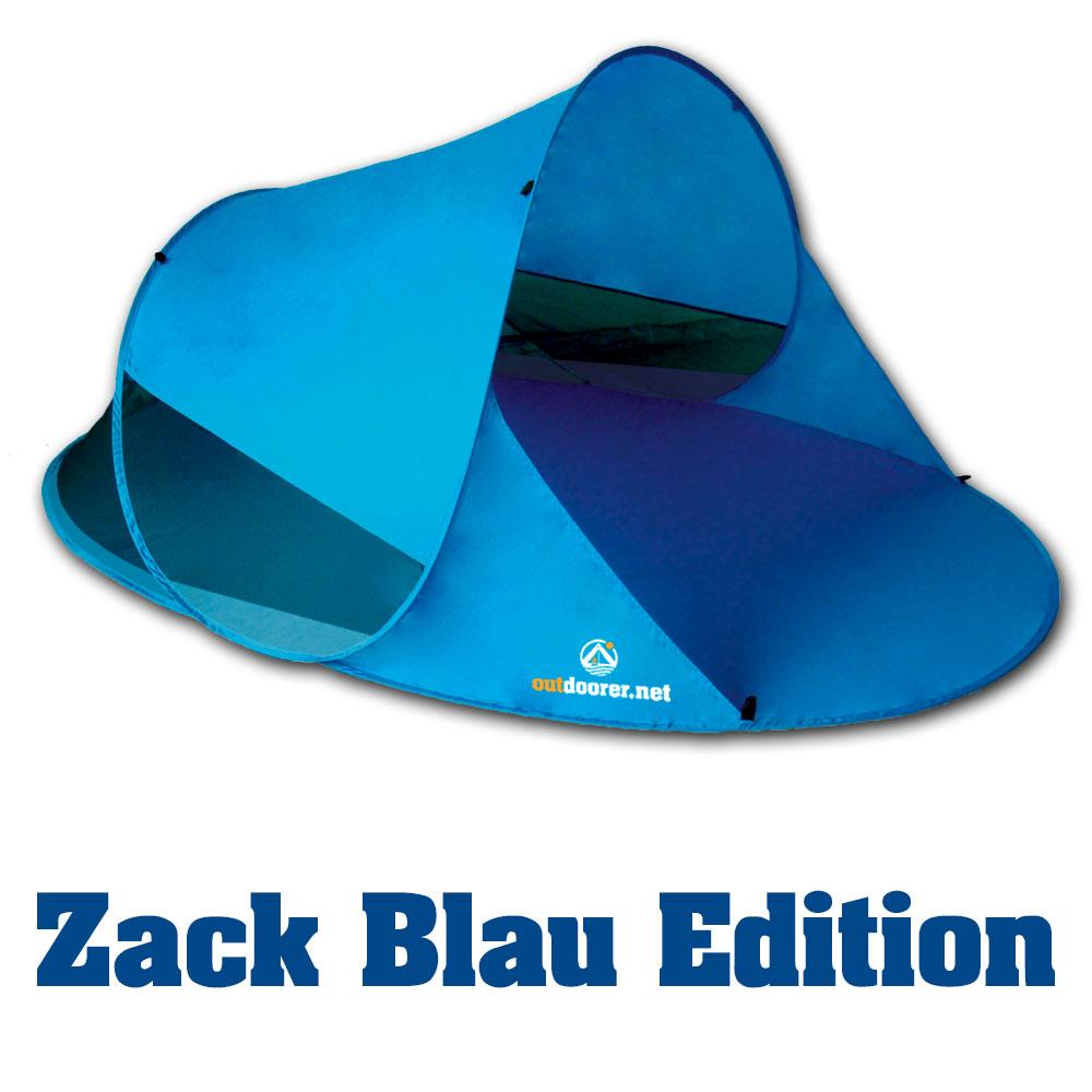 pop up strandmuschel zack ii von outdoorer mit moskitonetz f r bessere bel ftung ebay. Black Bedroom Furniture Sets. Home Design Ideas