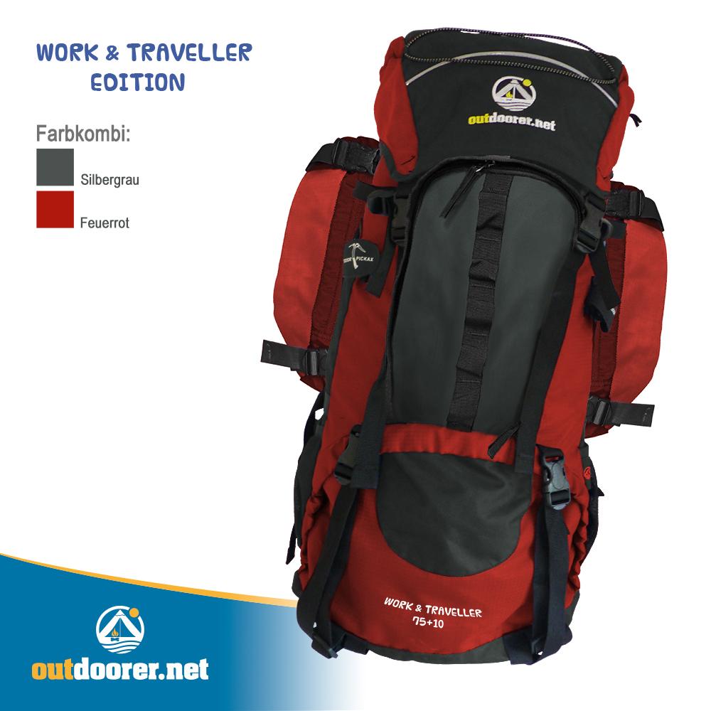 Work & Traveller Ruckack, Prototyp