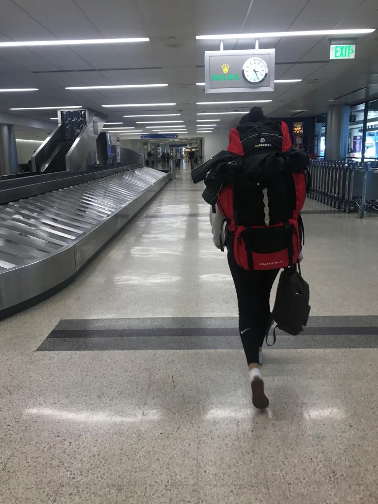 Los Angeles Flughafen Ankunft