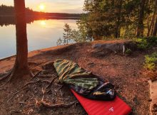 Biwakieren in Finnland