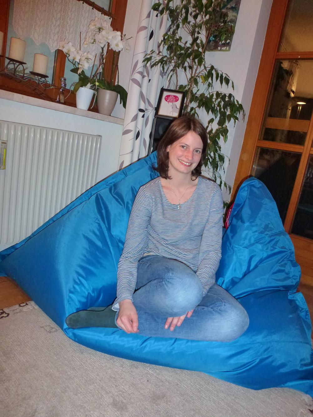 Gewinnerin Sitzsack QSack Outdoorer - Verena Oblinger