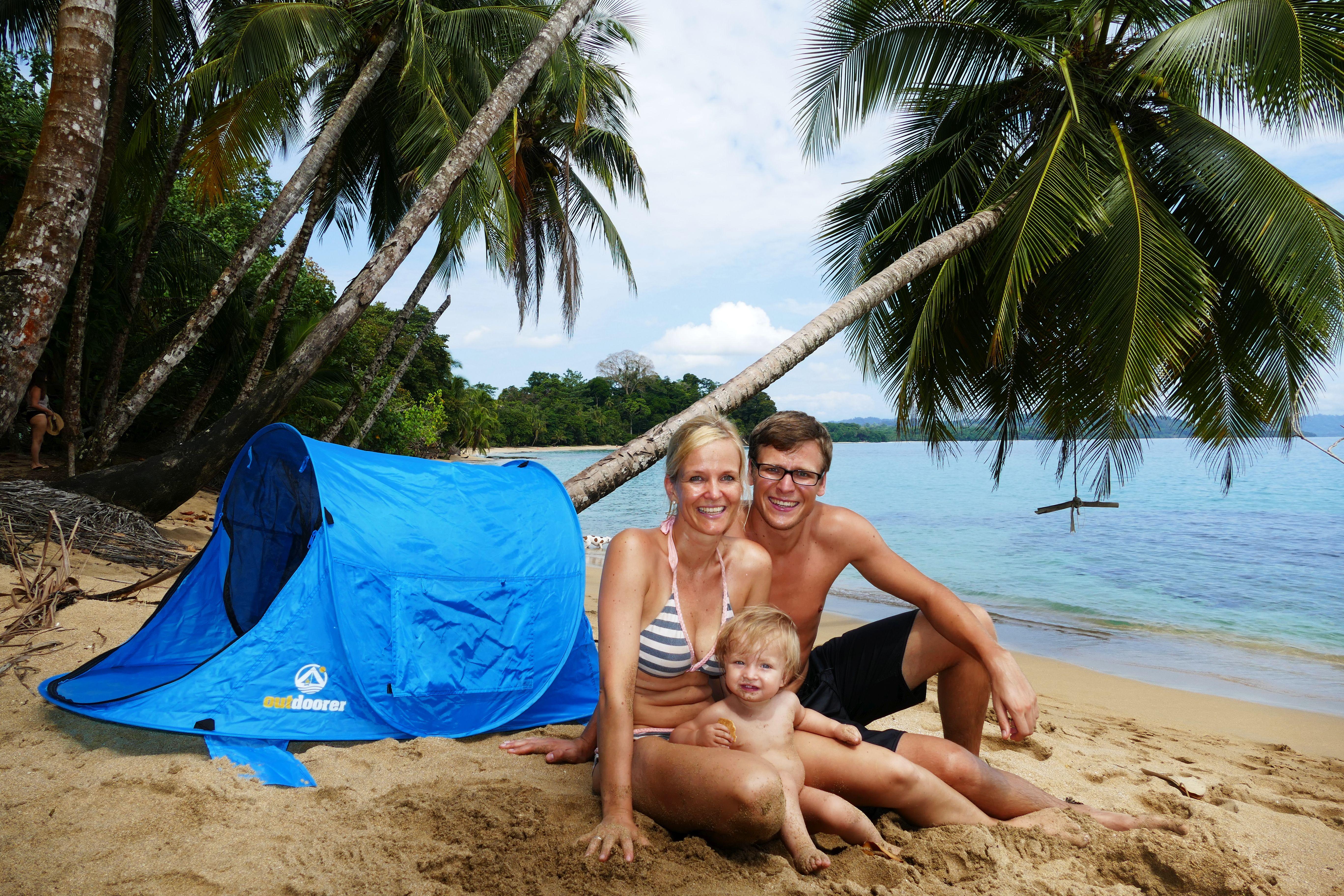 Kinderstrandmuschel Zack Premium Baby in Costa Rica