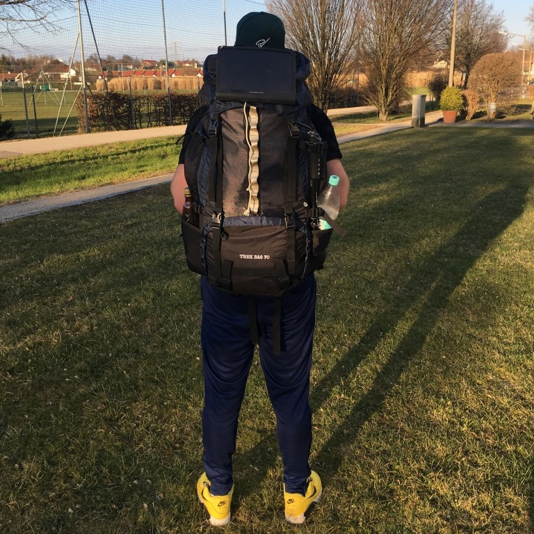 Kuba Backpacking mit dem Trek Bag 70 2