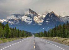 Rocky-Mountains-Fahrrad-Trekking