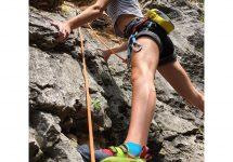 Routeneinstieg Kletterurlaub