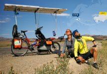 Sun Trip - Nandita - per Solar-Tandem nach Kasachstan