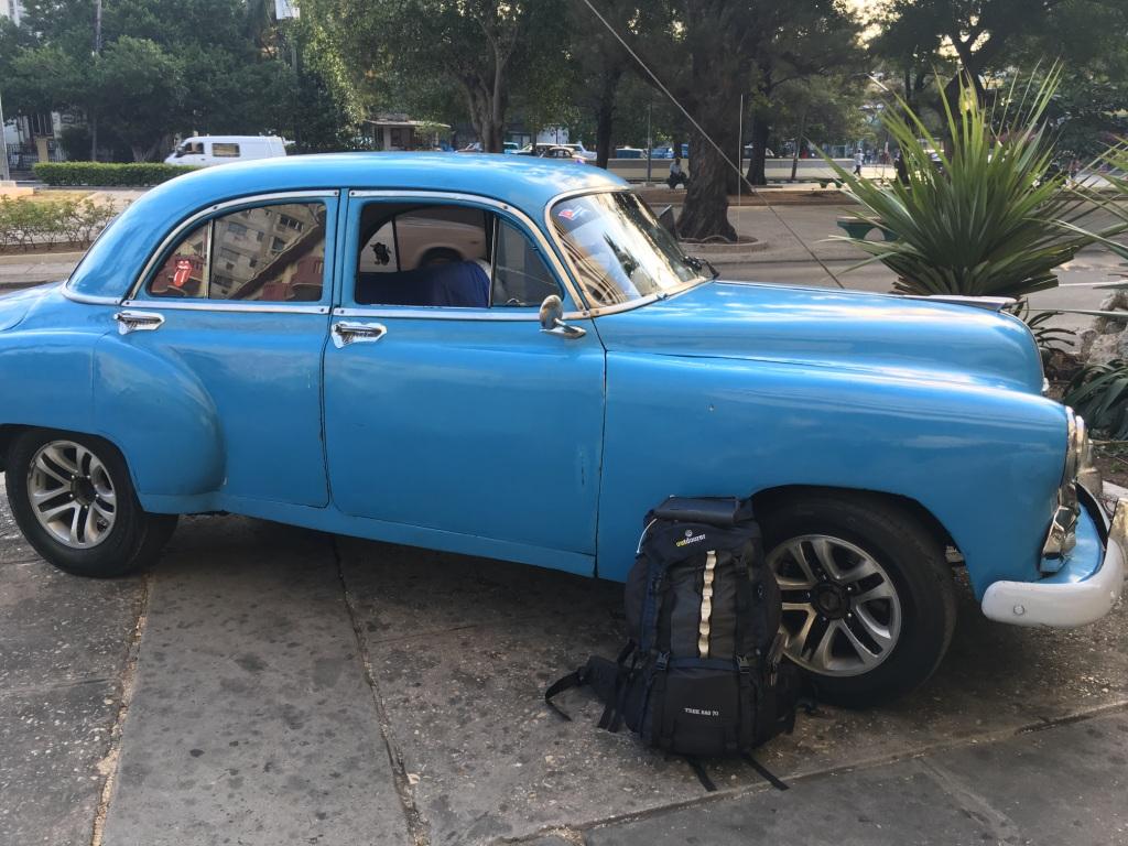 Trekkingrucksack Trek Bag 70 auf Kuba