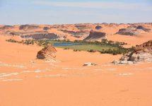 Tschad Wüsten Trekking