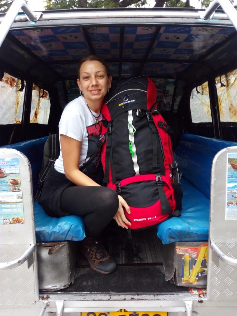 Weltreise Rucksack Atlantis in Thailand
