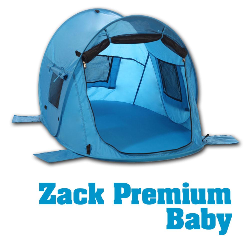 kinder baby strandmuschel zack premium baby selbstaufbauend uv 80 schutz ebay. Black Bedroom Furniture Sets. Home Design Ideas