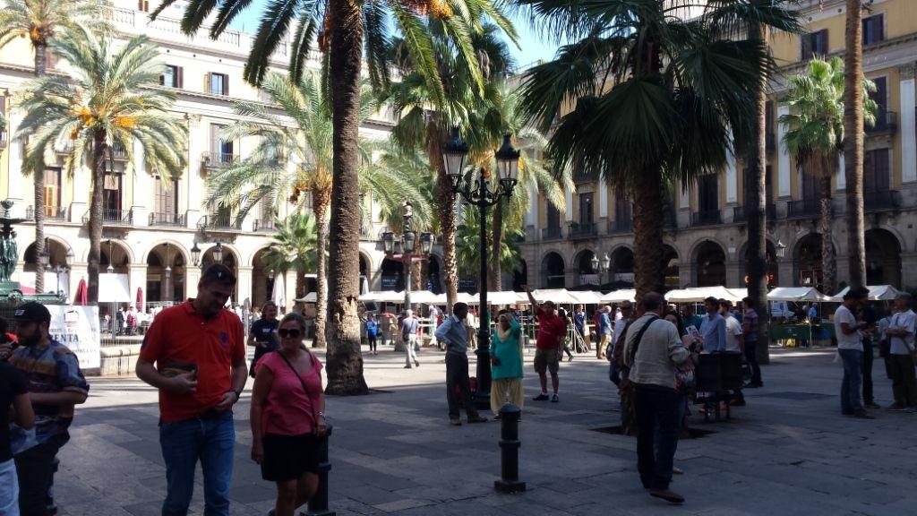 14-1, Barcelona, Las Ramblas