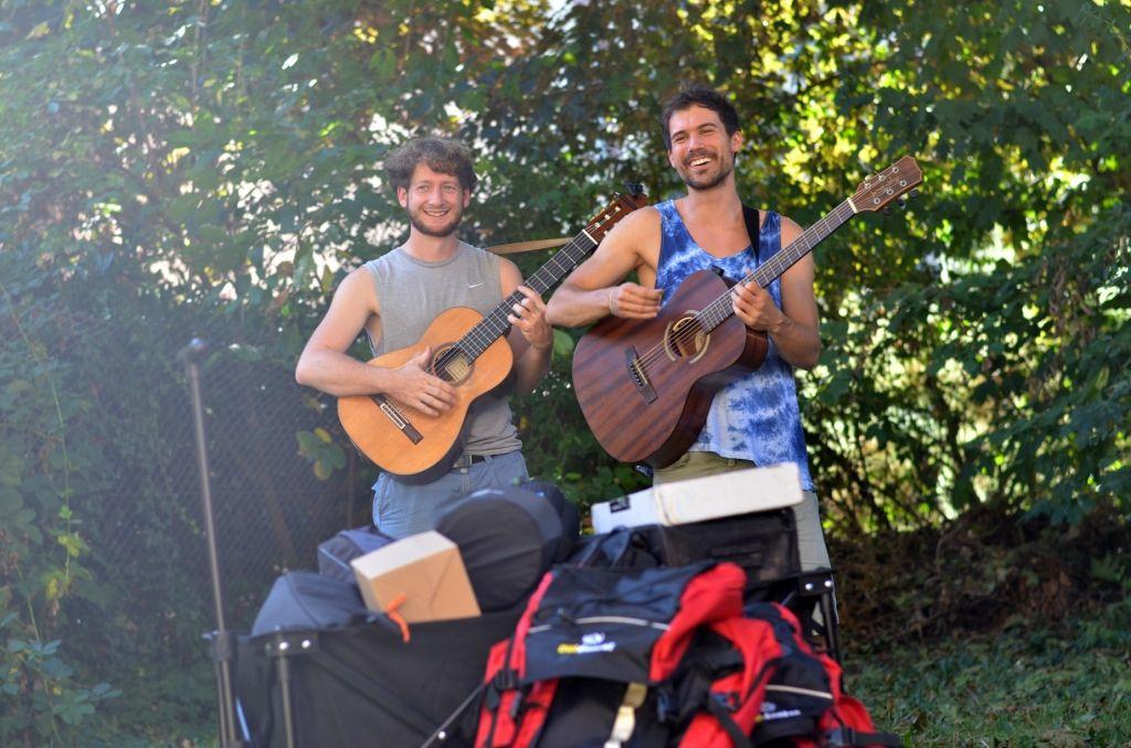 Eucalypdos - Backpacking mit Gitarre