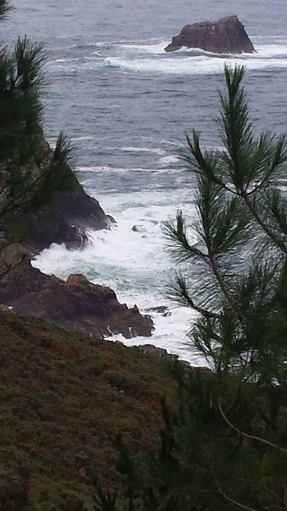 2-7, Weg zum Kap Finisterre, Praia Mar de Fora