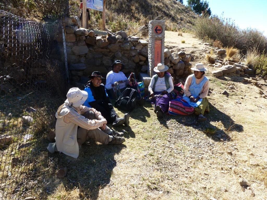 Ilsa de la Luna, Titicacasee