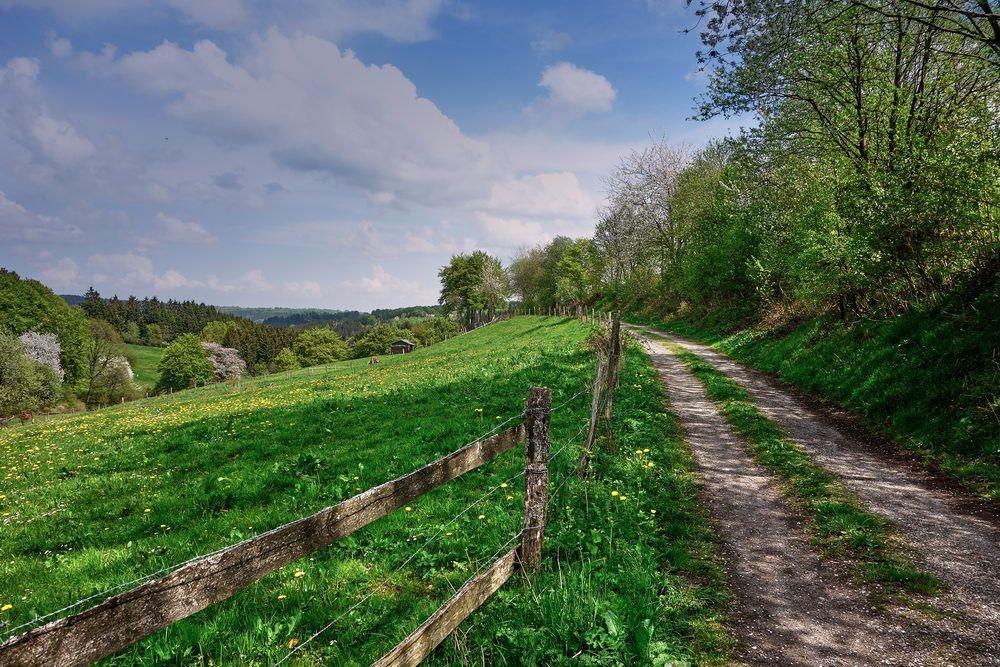 Wanderung durch die Aachener Region