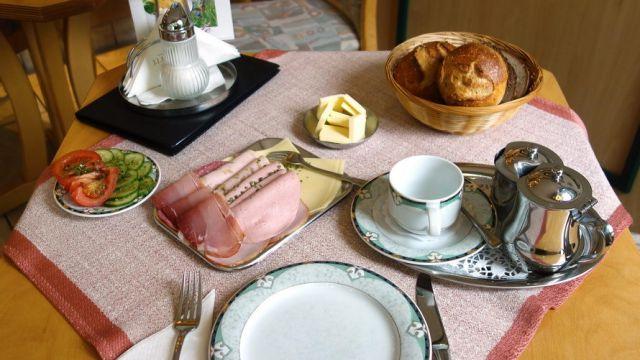 Frühstück in Heimbach