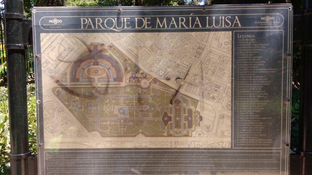 Sevilla Plaza Espana Segnal