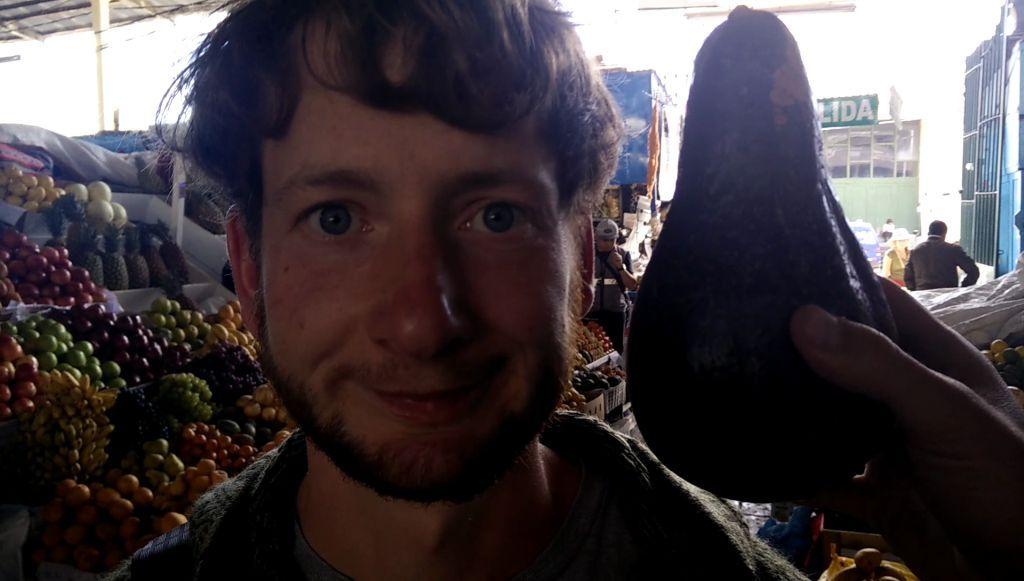 Straßenmusiker in Südamerika