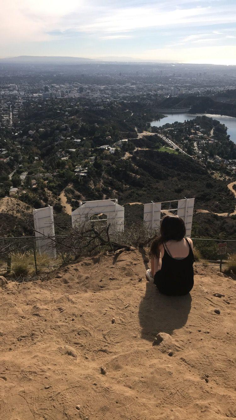 Ausblick auf hinter dem Hollywood Sign