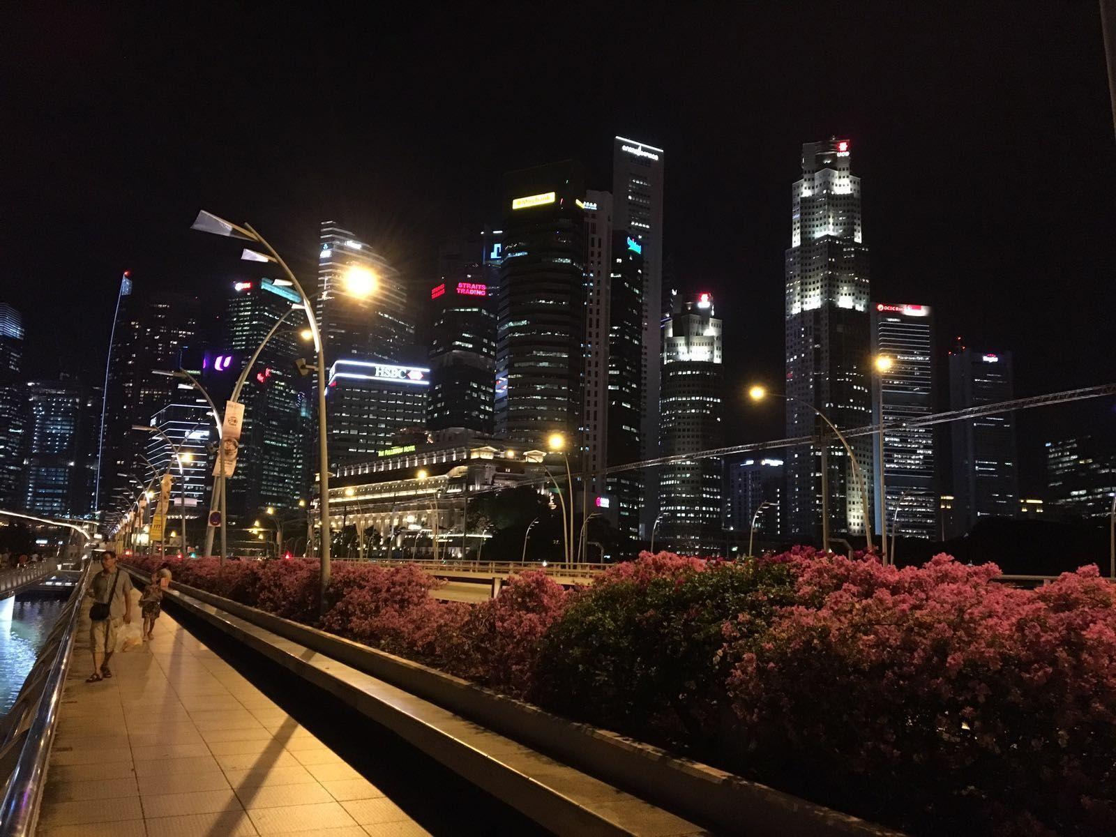 Bankenviertel Singapur