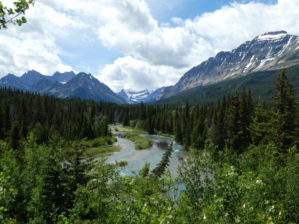 Belly River Valley - Landschaft 2