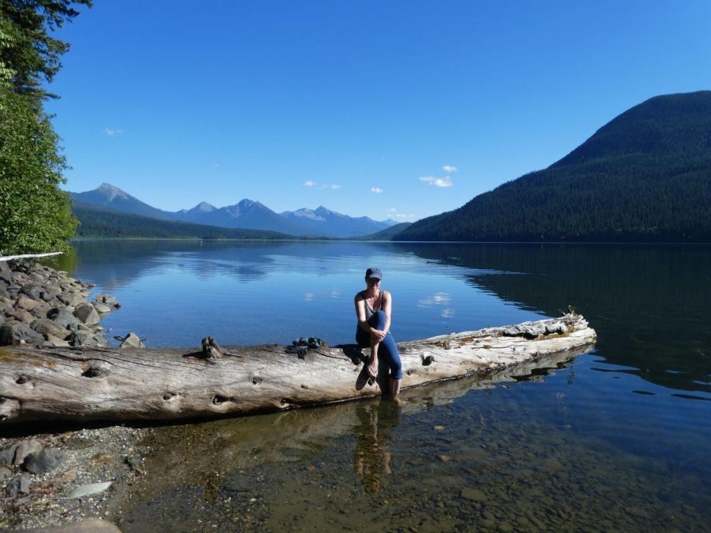 Bowron Lake - letzte Pause