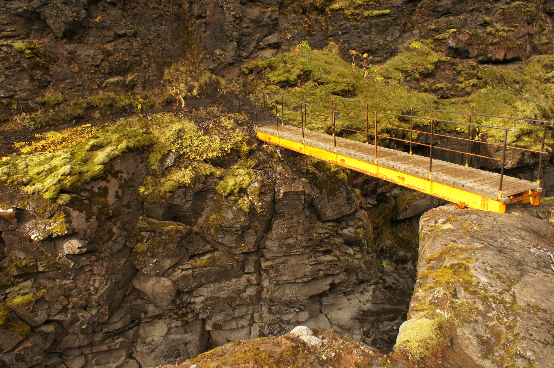 Brücke zwischen Emstrur und Thorsmoerk