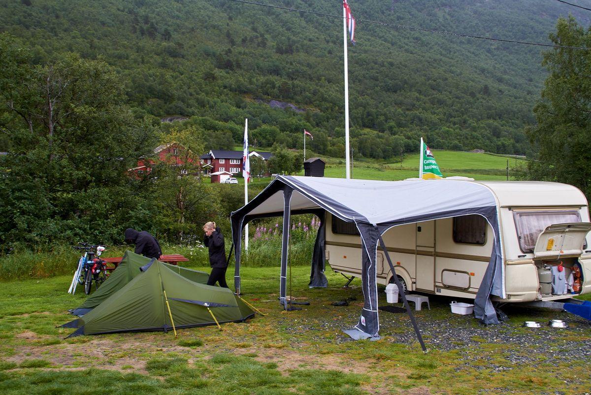 Campaufbau auf Magalaupe