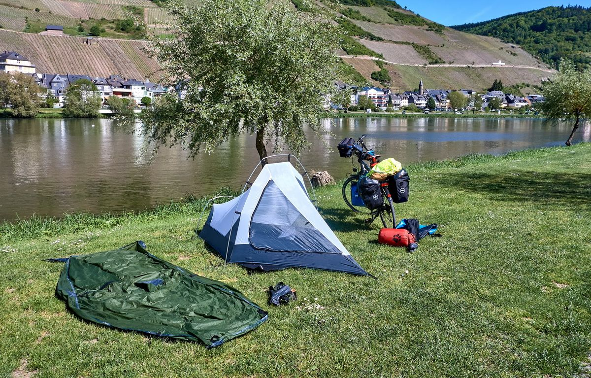 Camping an der Mosel in Zell