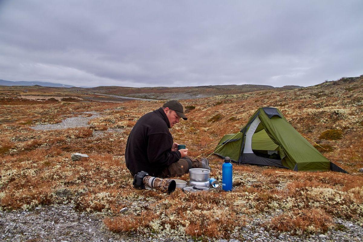 Camping im Dovrefjell