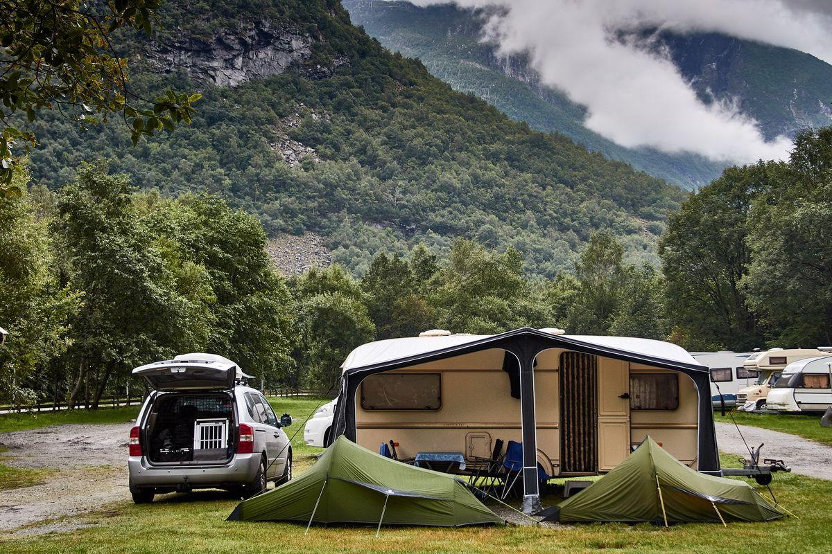 Camping im Utladalen am Sognefjord
