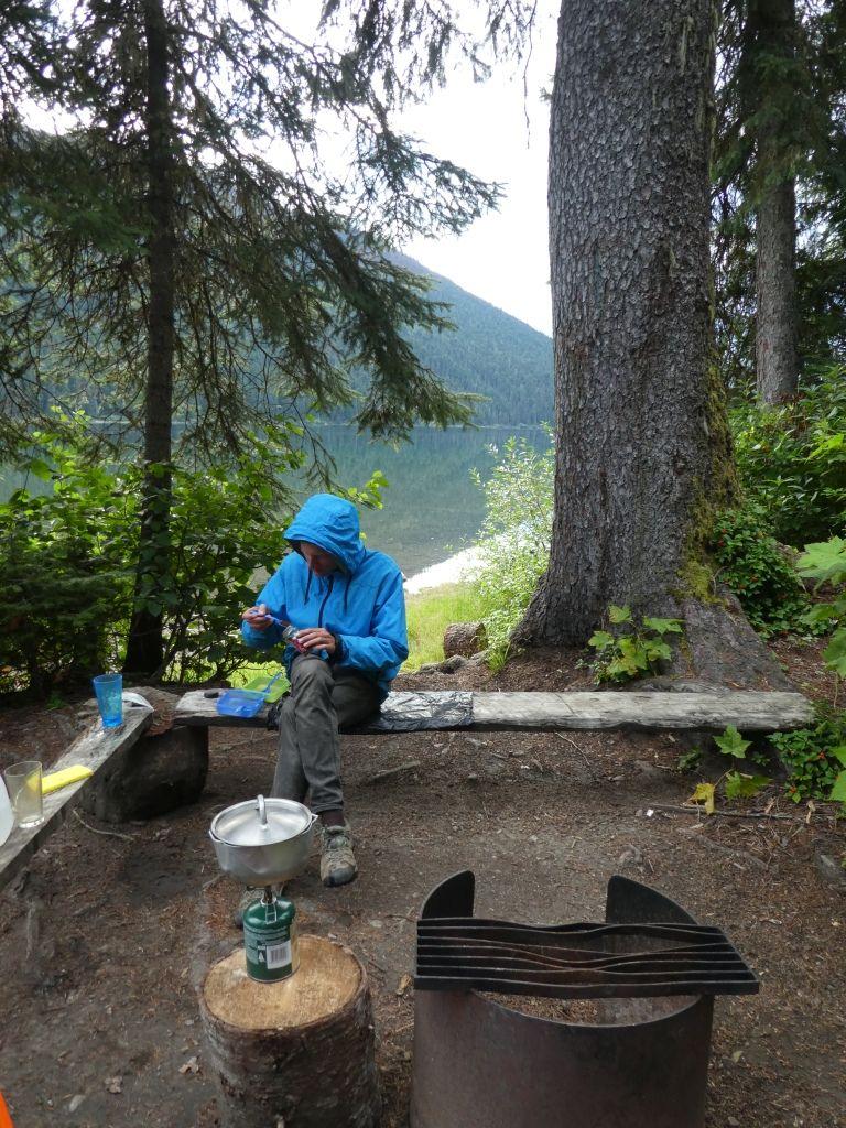 Campingplatz Nr. 27 am Isaac Lake