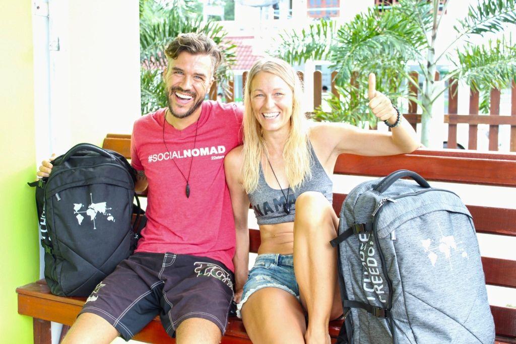 DNX Gründer Feli und Marcus + DN35