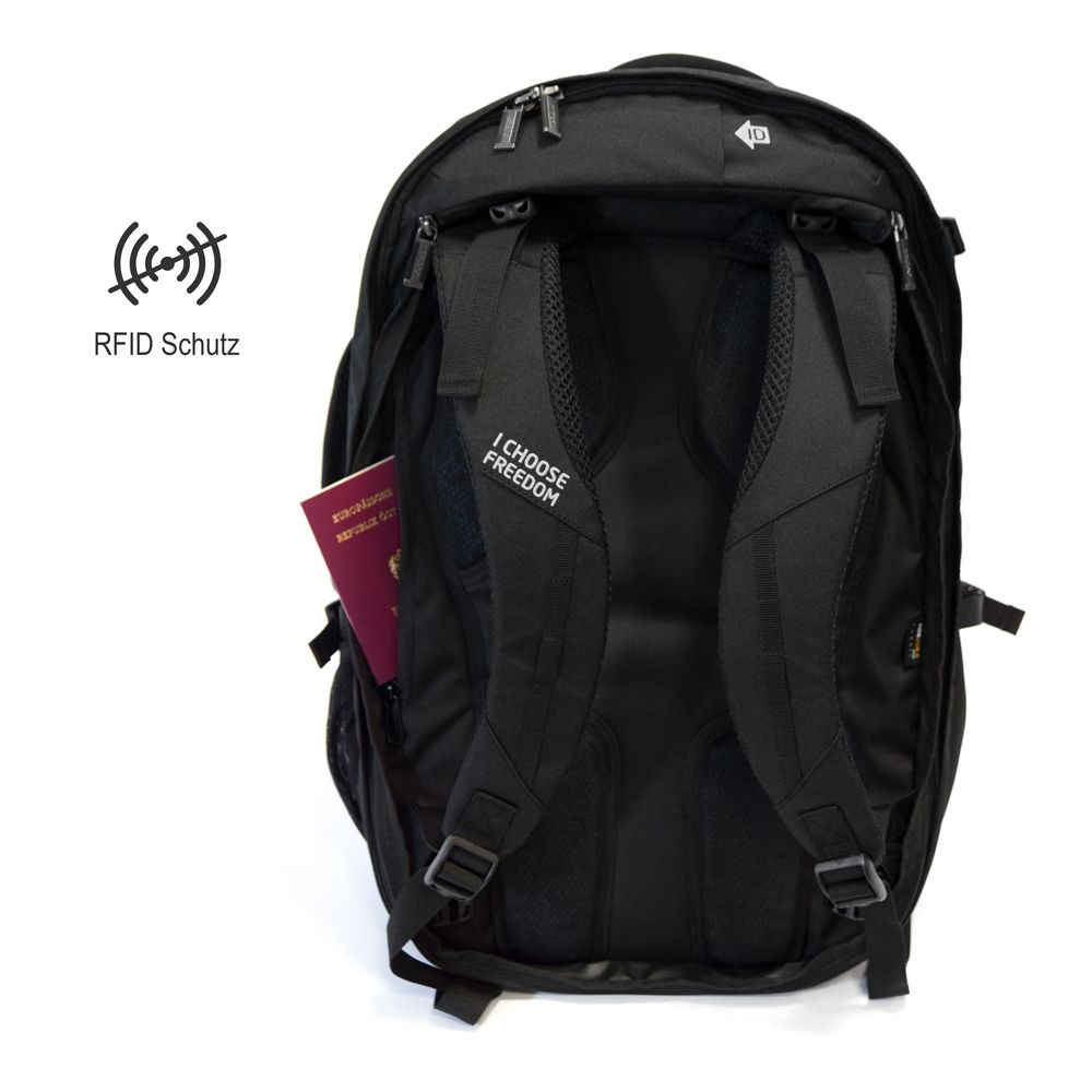 RFID Schutz beim Business Rucksack