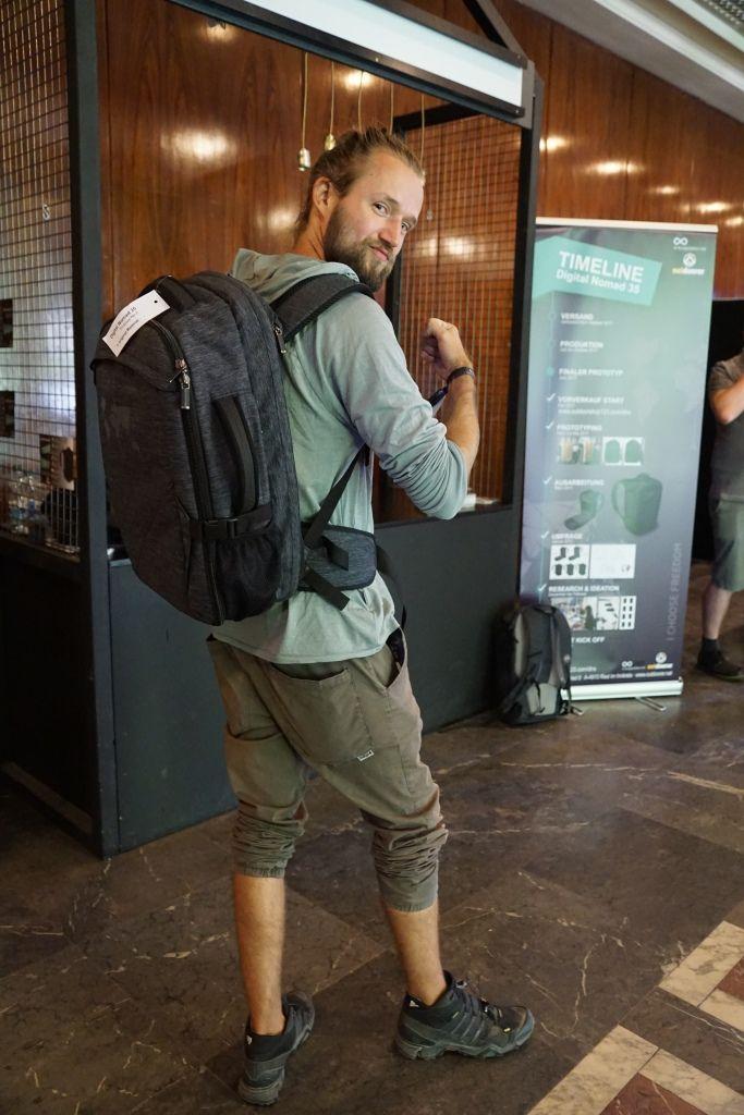 Digital Nomad 35 - der Rucksack für Digitale Nomaden