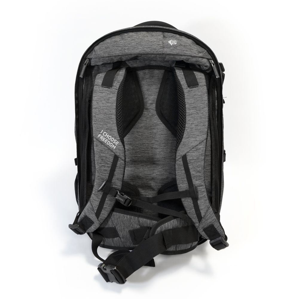 Digital Nomad 35 Rückensystem grau