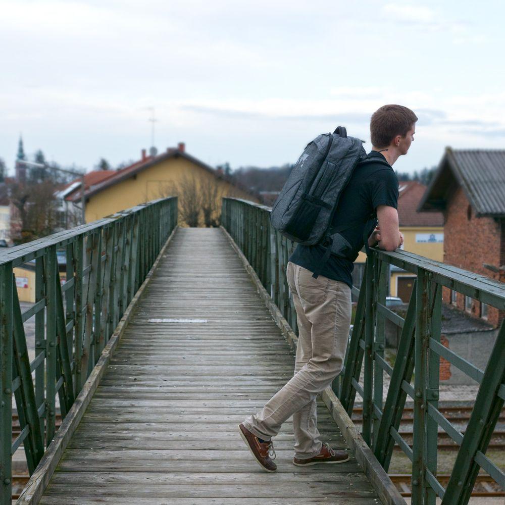 Digitale Nomaden Backpack aus Vecoya