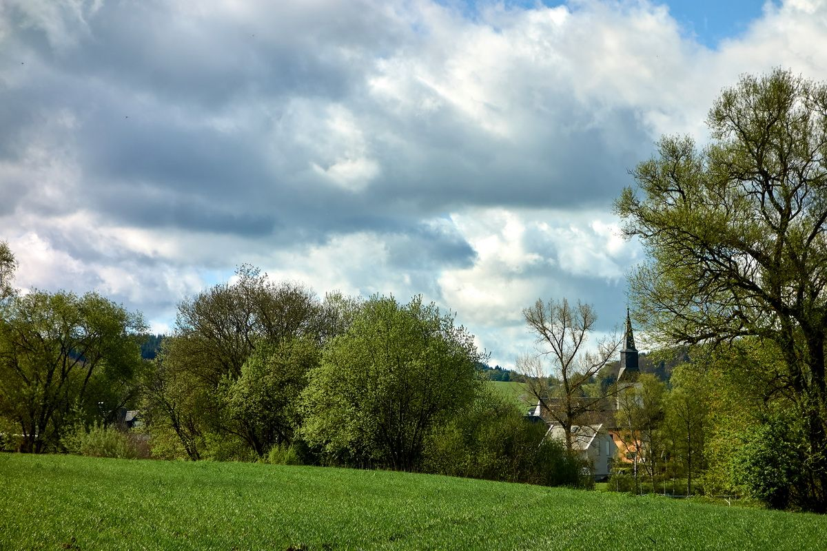 Dorfidylle am Kyllradweg