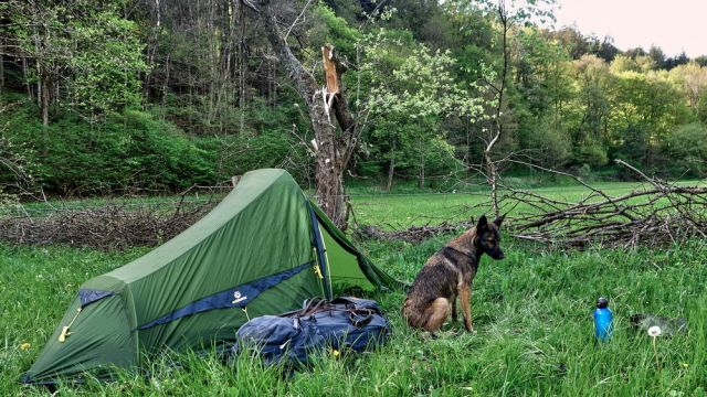 Eifel Wanderung mit dem Ultraleichtzelt Trek Escape