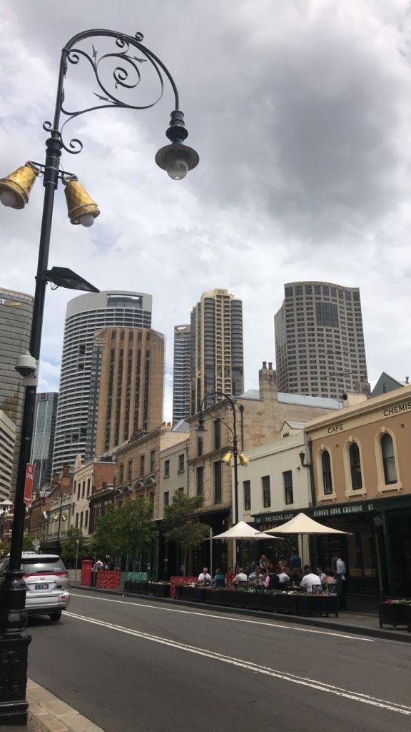 Eine von vielen Englischen Vierteln in Sydney