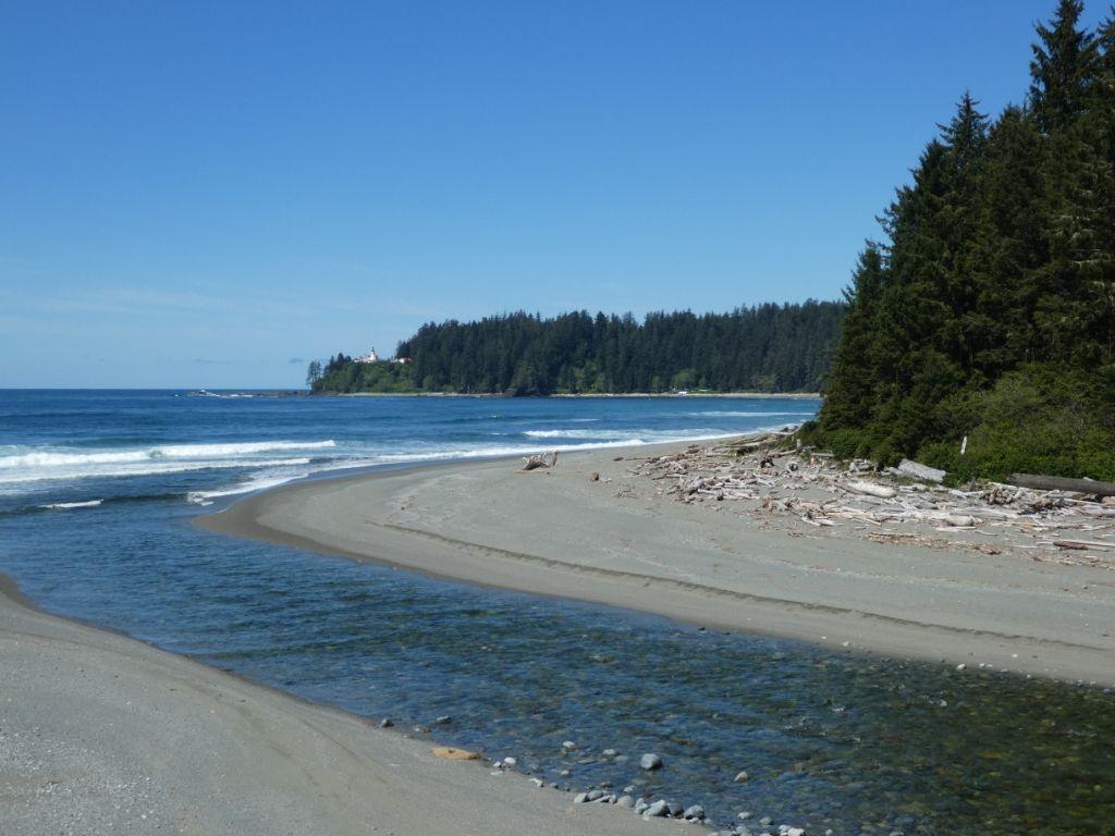 Flusslauf - West Coast Trail P1030873