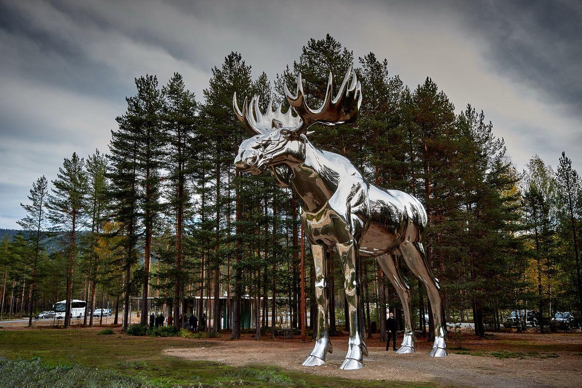Größter Elch der Welt in Osterdalen
