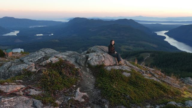 Kanadisches Panorama auf dem Tin Hat