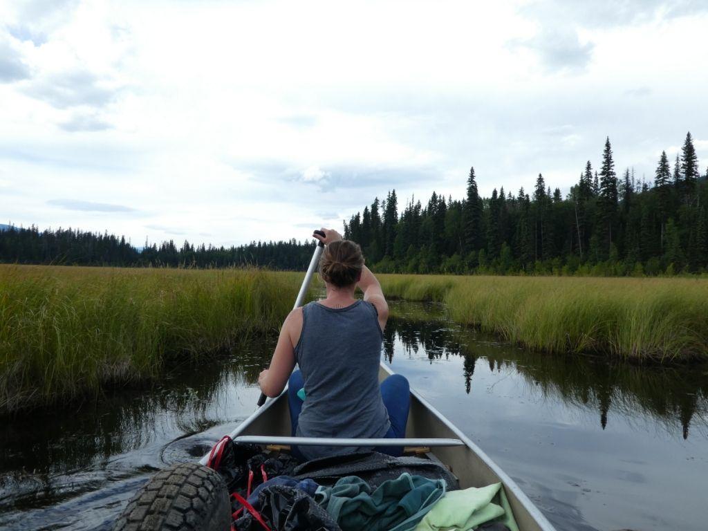 Kanuwandern in den Wetlands