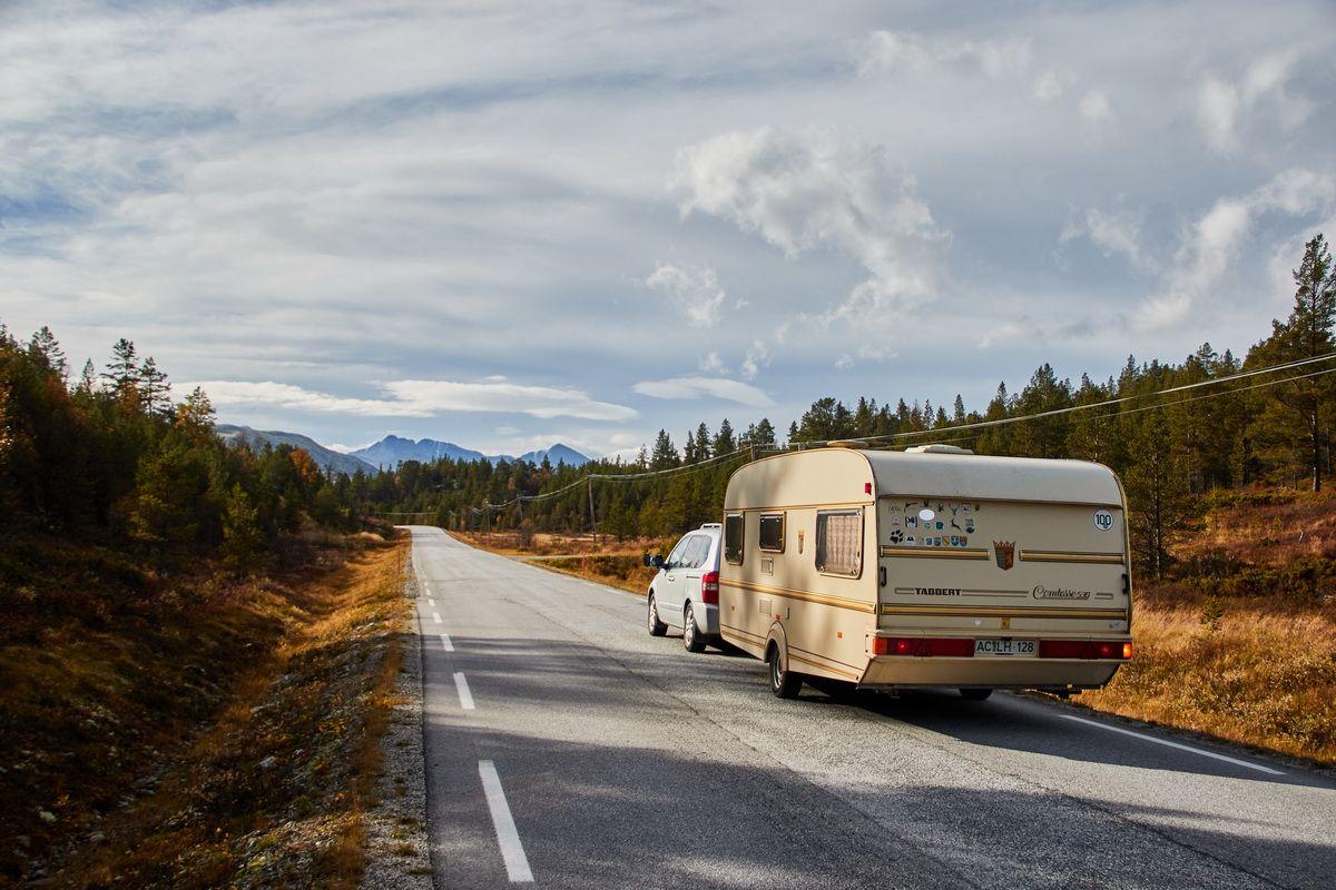 Durch Skandinavien mit dem Wohnwagen