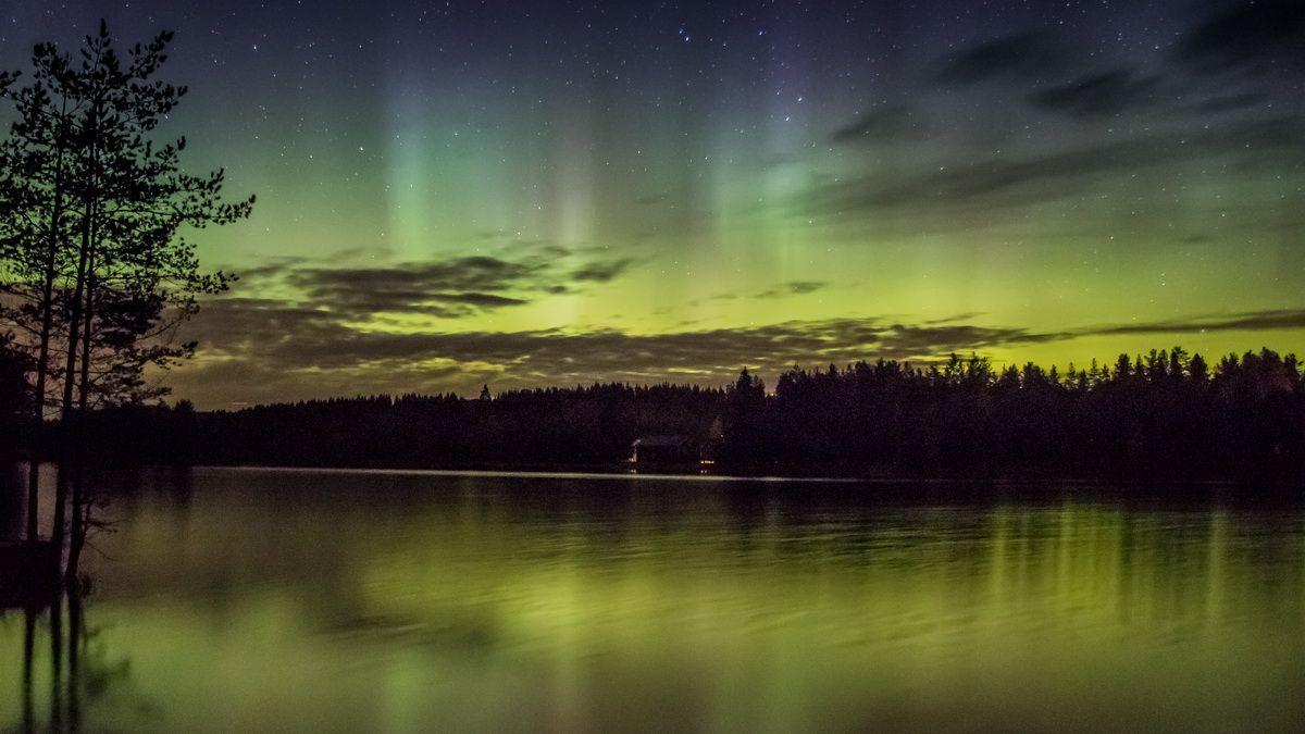 Naturphänomen Aurora borealis