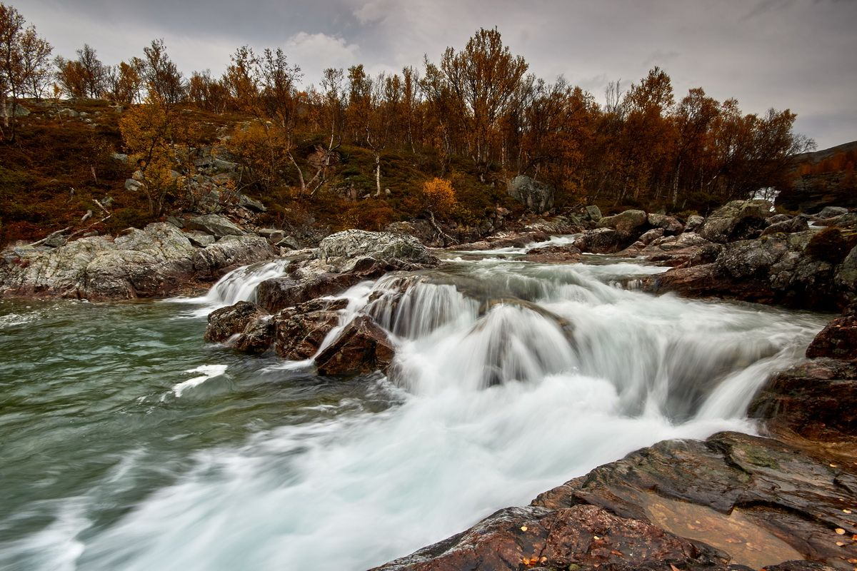 Norwegischer Fluss Driva