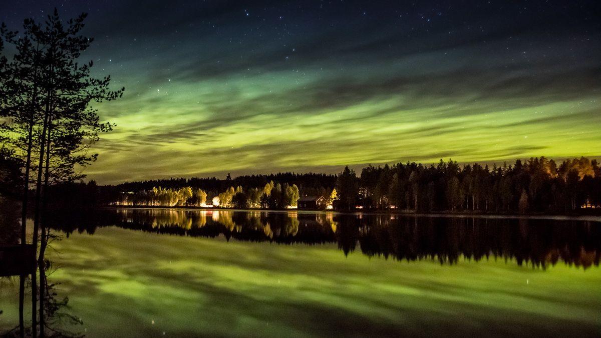 Fotografieren von Polarlichtern